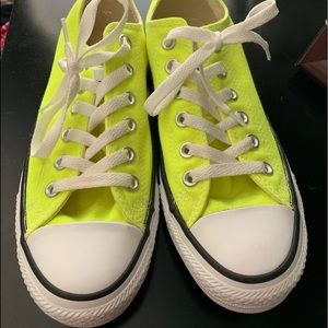 Converse; worn once, in great condition